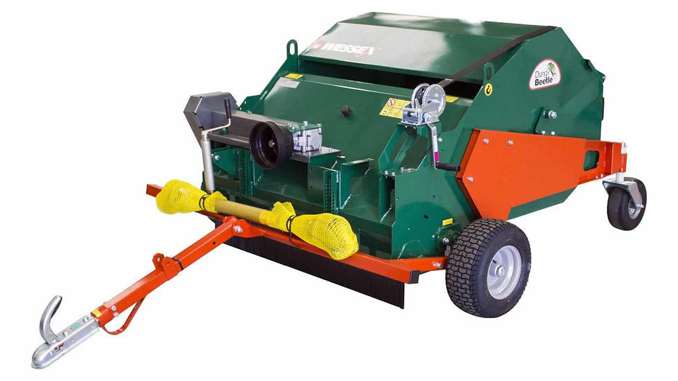 WESSEX MTC-120-P PTO DRIVEN TRAILED SWEEPER COLLECTOR