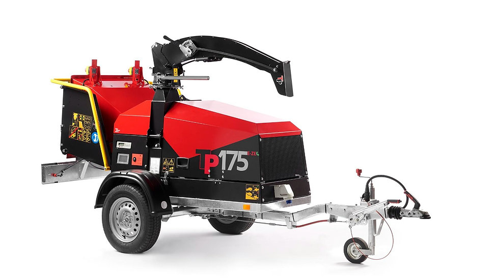 TP175 Mobile battery Chipper, City & Eco friendly.
