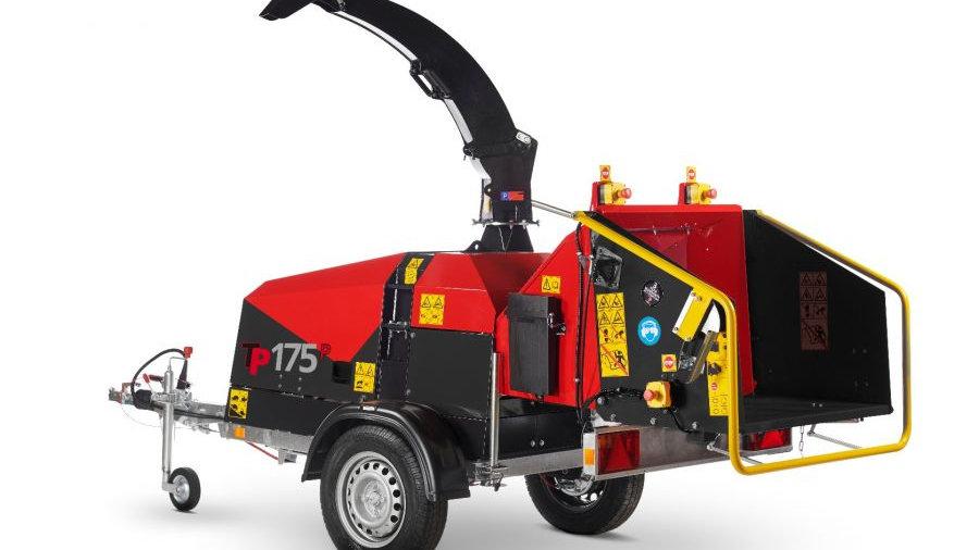 TP175 MOBILE PETROL Wood Chipper