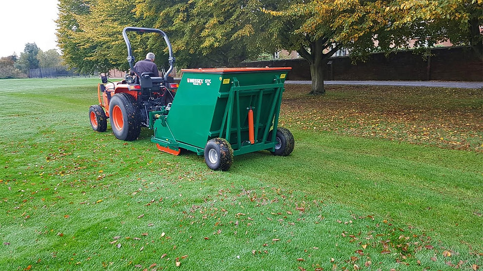 WESSEX STC FLAIL/ SWEEPER/SCARIFIER COLLECTOR 1.2m wide