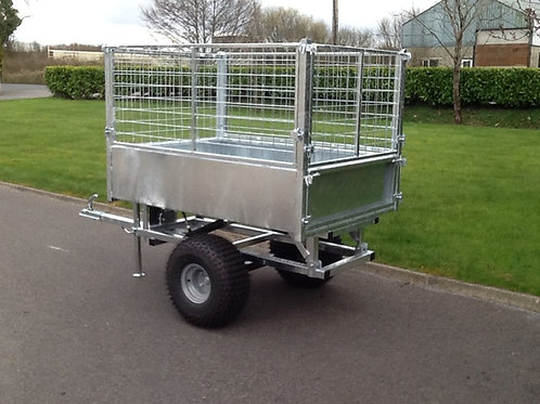 ATV tipper trailer 5'x3'6