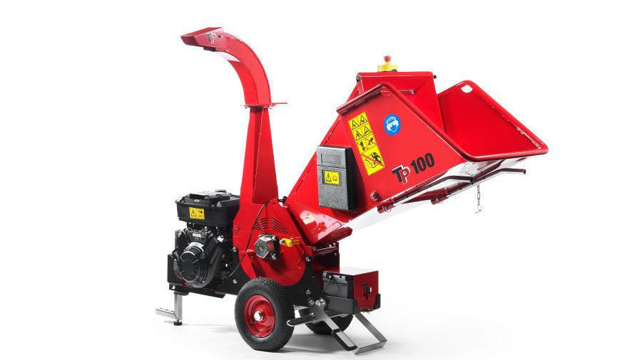 TP100 MOBILE Wood Chipper