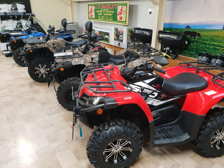 JFHanley CFMOTO and Honda ATV Showroom