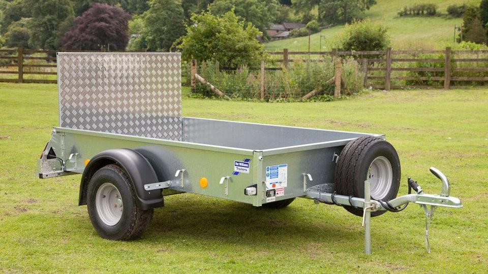 Ifor Williams P7e ATV trailer