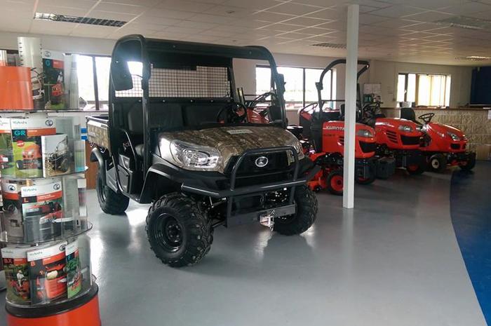 KUBOTA RTV & Grasscare Machinery