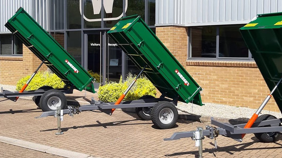 WESSEX 1.50 TON TRAILERS TRAILER