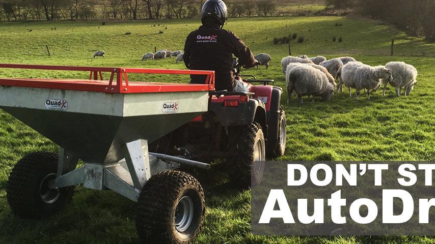 AutoDrop Stock Feeder Sheep Snacker