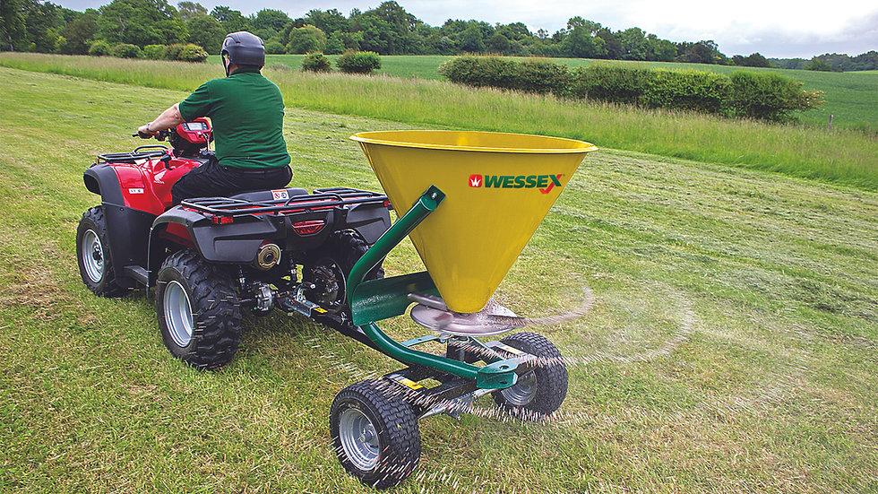 WESSEX ATV SPREADER FS TRAILED