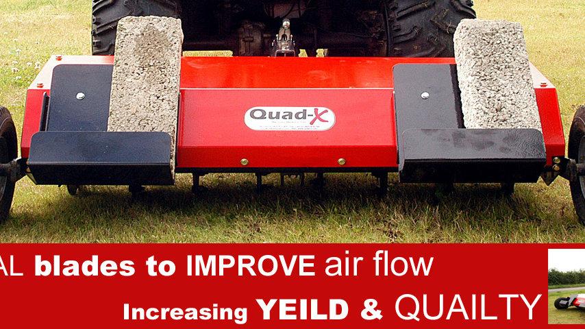 Aerator ATV Quad-x