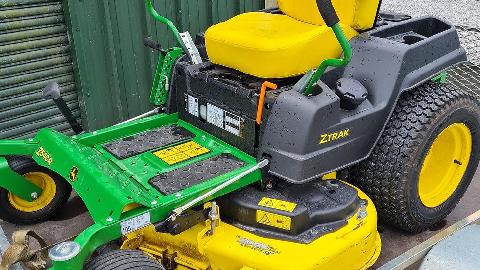John Deere Z540R Zero Turn mower 2018
