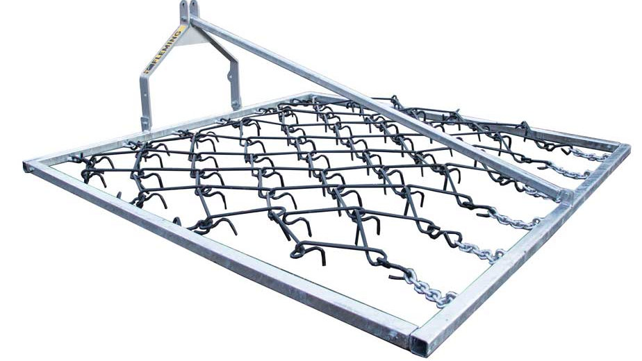 FLEMING COMPACT TRACTOR MOUNTED CHAIN HARROW