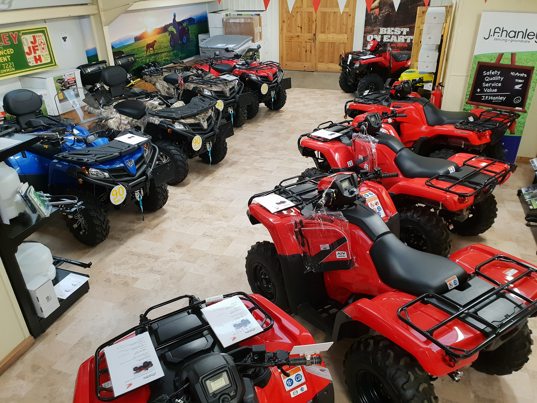 ATV showroom JFHanley