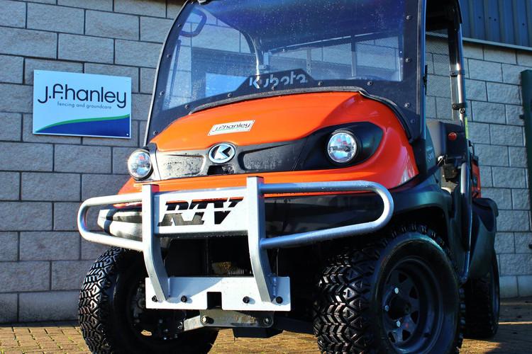 Orange Kubota RTV JFHanley Roscommon