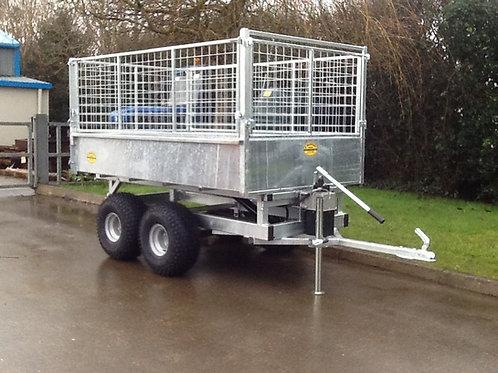 ATV tipper trailer 7'x4 twin axle