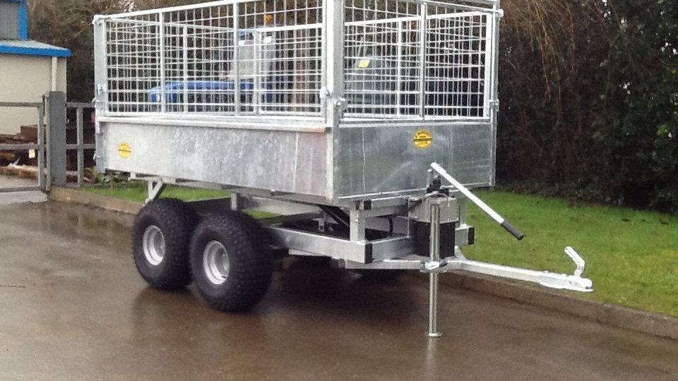 ATV road ready trailer 7'6x4'2