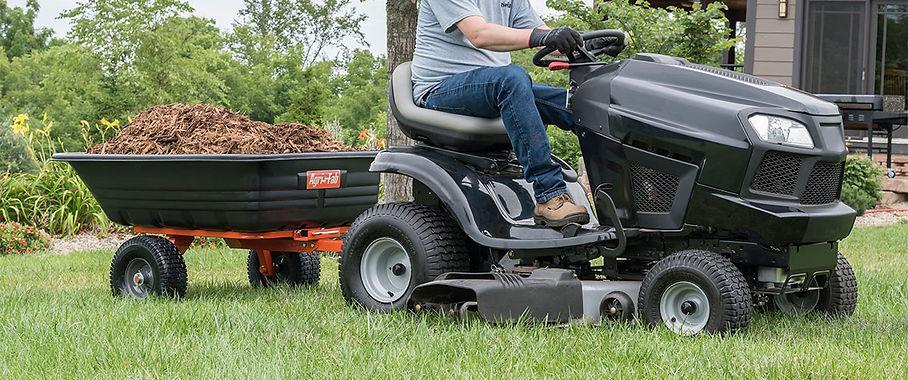 Agri Fab Utility 12 Poly Cart Model 45-0