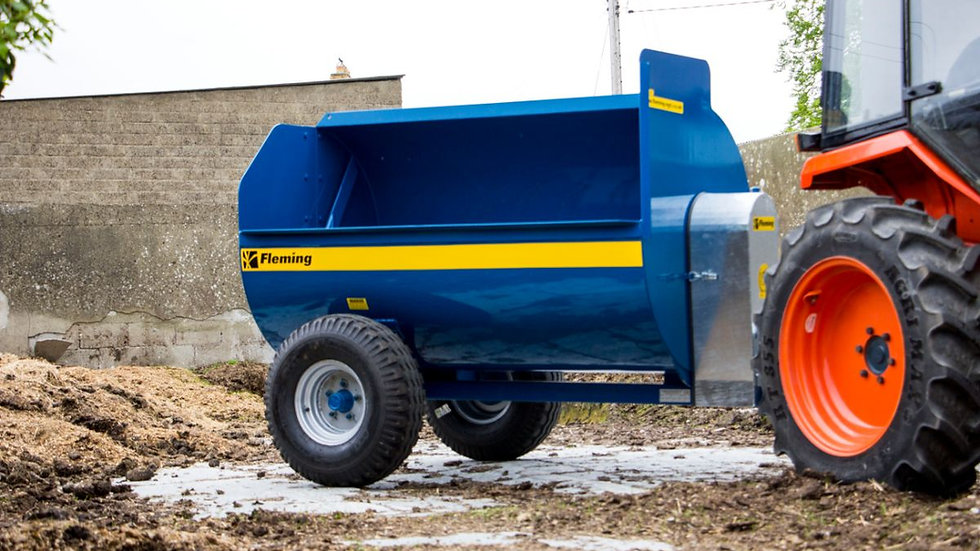 FLEMING COMPACT MUCK SPREADERS
