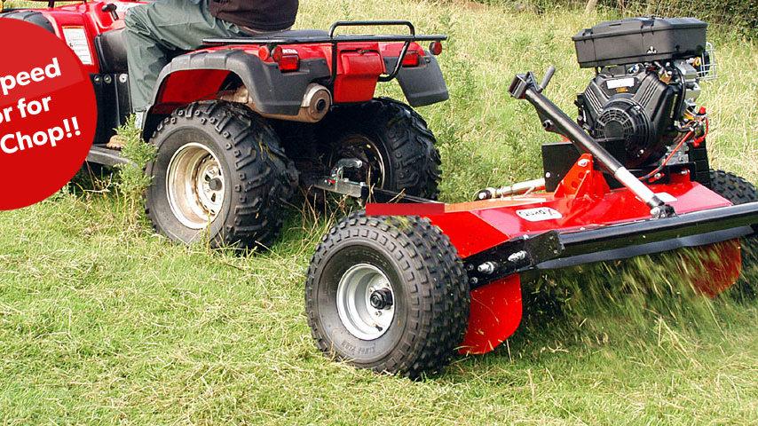 Quad-X Flail Mower range