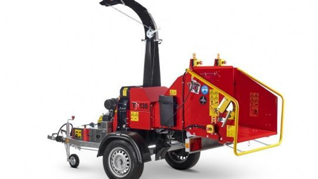 TP130 MOBILE Wood Chipper