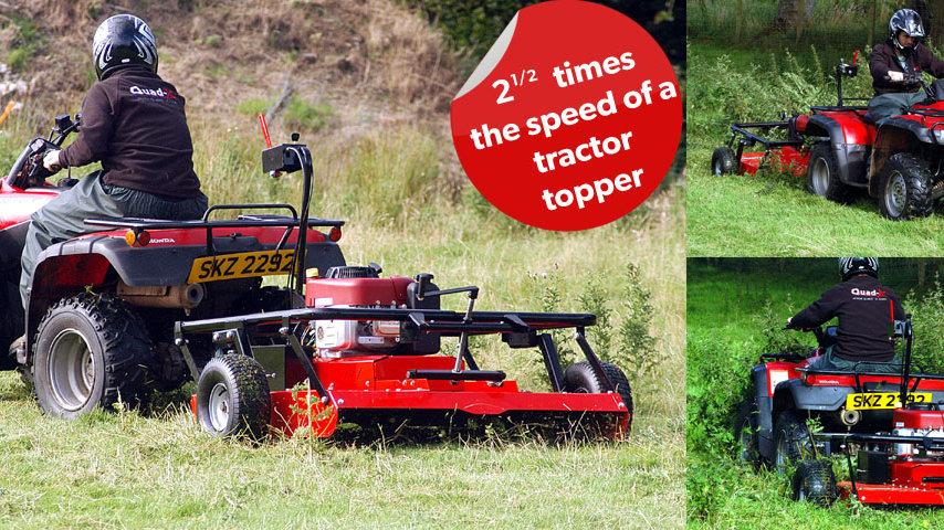 Quad-X Wildcut mower range