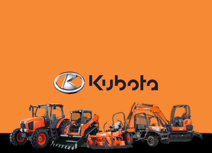Kubota Machinery Line up