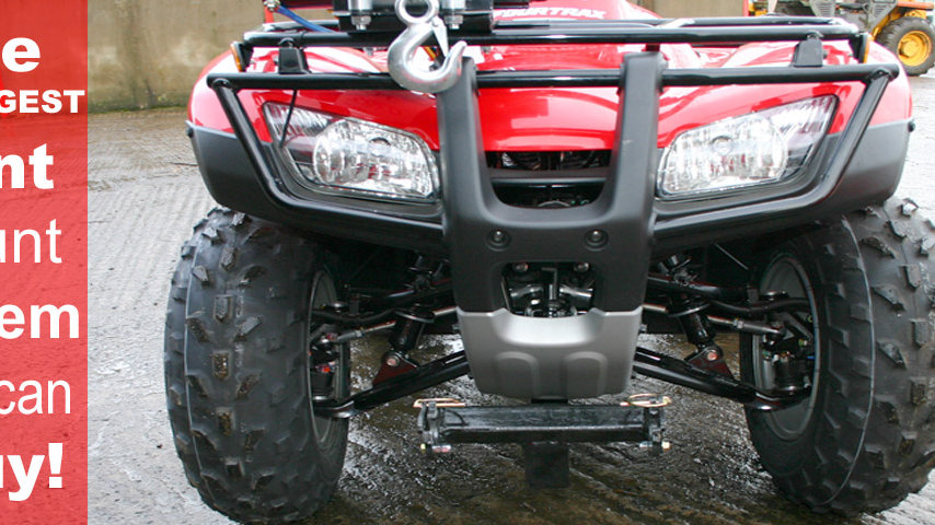 Quad-X ATV Supermount system