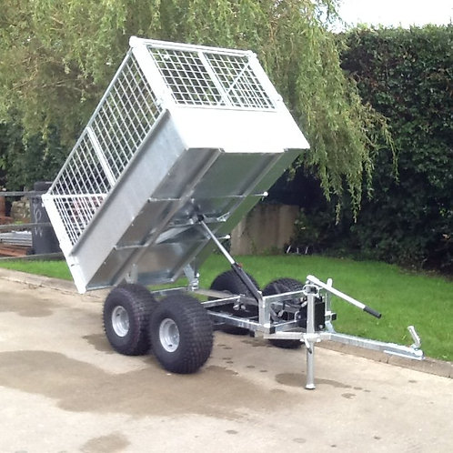 ATV tipper trailer 6'x4 twin axle