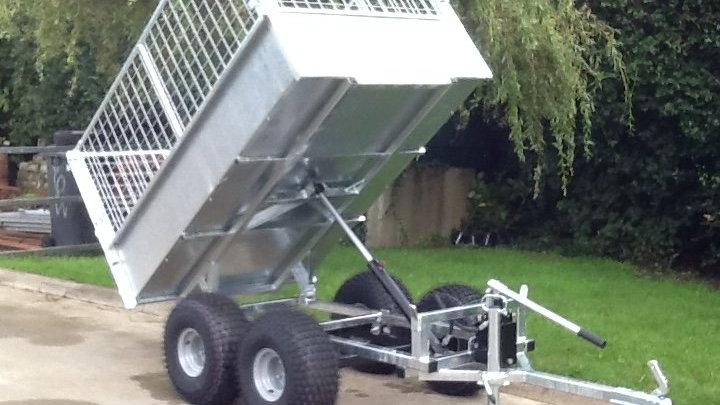 ATV tipper trailer 6'x4 twin axle