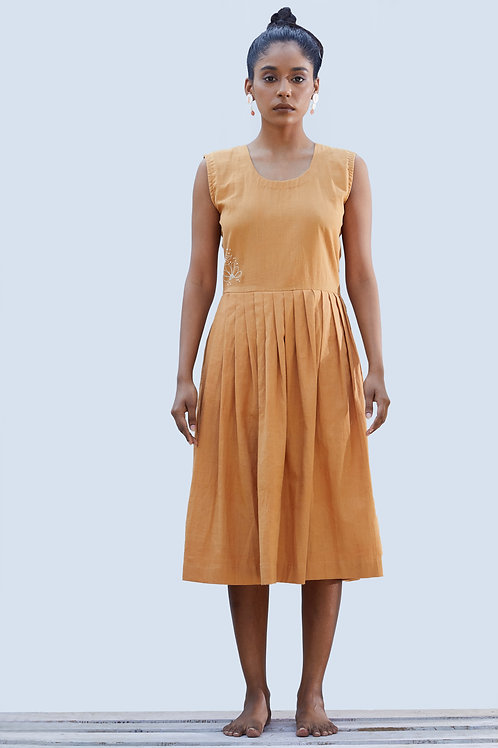 Apricot Valley Dress