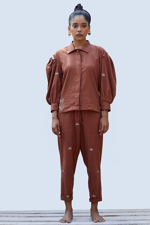 Taiga Shirt - Cinnamon