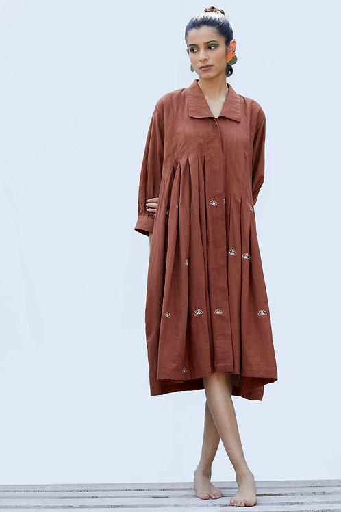 Mangrove Dress - Cinnamon