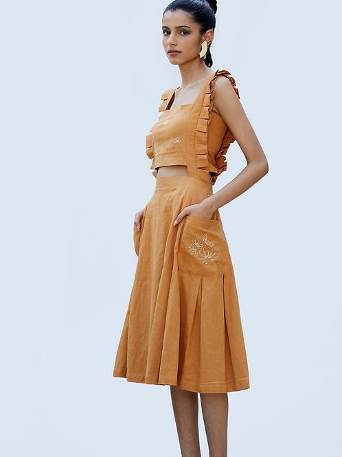 Daintree Dress - Mustard