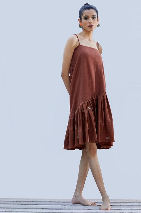 Red Wood Dress