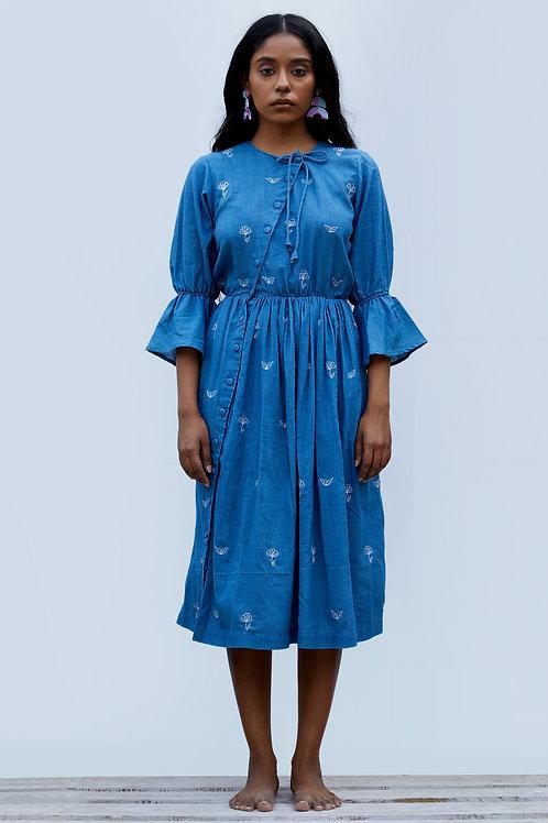 Margret Dress - Indigo