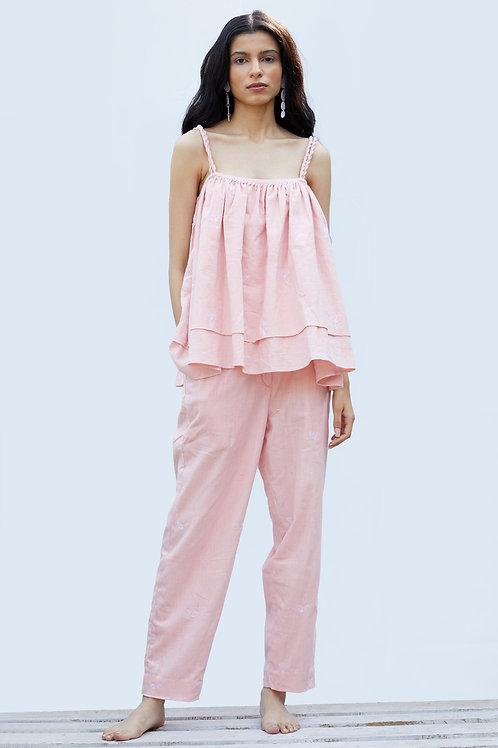 Grace Bay Top - Madder Pink