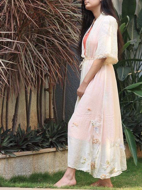 Freesia Long Robe by Label Zoe