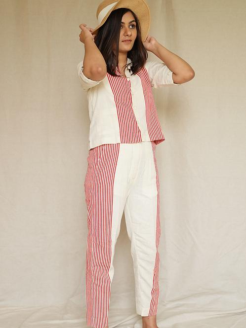 Classic Stripes Crop shirt
