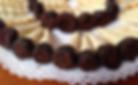 Cahitos con choolate y manjar