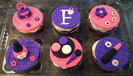 cupcakes maquillaje
