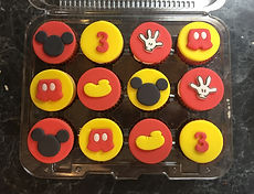 Minicupcakes Mickey Mouse