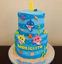 Torta Baby Shark