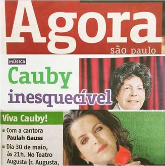Viva Cauby! (Tributo) no Agora SP