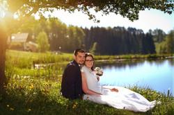 Romantik pur am Badeteich in Arbesba
