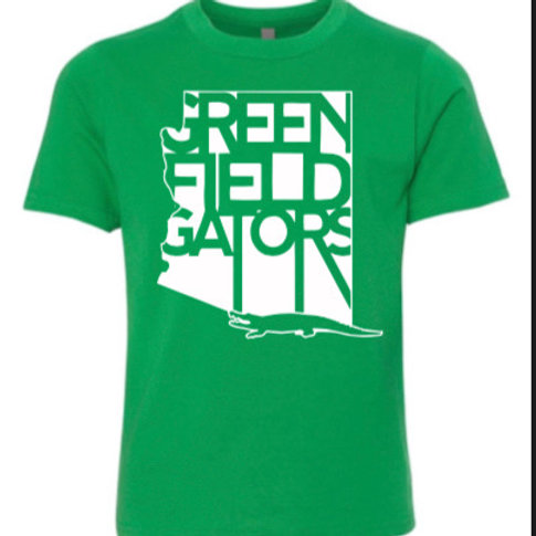 Greenfield Gator 2020/21 Tee - Youth Sizes