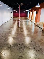 Overlay & custom concrete staining