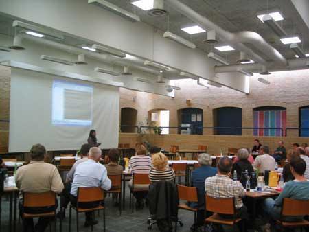 danish3 Professors watching the presenta