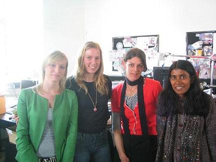 bestseller3 Uma with designers in Bestse