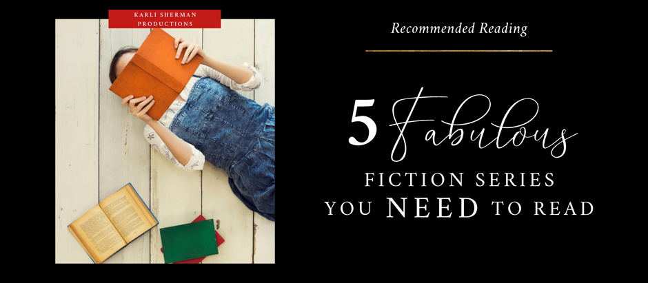 Five Fabulous Fiction Series You Need to Read!