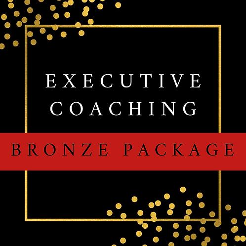Executive Coaching   Bronze Package
