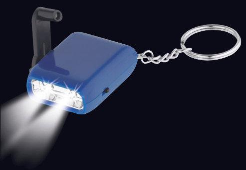 LL13 - Llavero-Linterna LED Dínamo